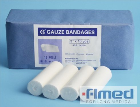 Absorbant médical 100% coton Bandage de gaze